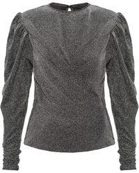 Isabel Marant Leather Skirt Black