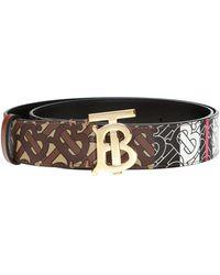 Burberry Patterned Belt - Brown