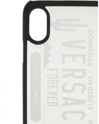 Versace Iphone Case Unisex Silver - Metallic