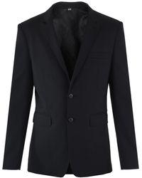 Burberry Single-vented Suit - Black