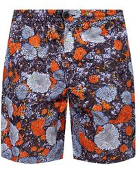 McQ Patterned Shorts - Blue
