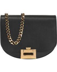 Victoria Beckham 'half Moon' Shoulder Bag - Black