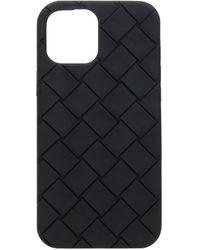Bottega Veneta Iphone 12 Pro Max Case Unisex Black