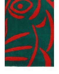 KENZO Printed Bath Towel Unisex Green