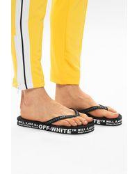 Off-White c/o Virgil Abloh Platform Flip-flops Black