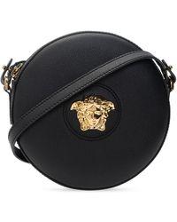 Versace Medusa Head Shoulder Bag Black