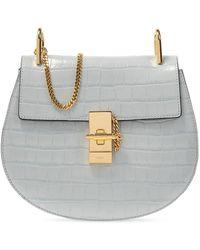 Chloé 'drew' Shoulder Bag - Blue