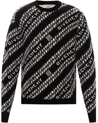 Givenchy Jumper With Logo Black
