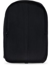 Homme Plissé Issey Miyake Pleated Backpack - Black