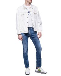 Just Cavalli - Jeans With Logo - Lyst