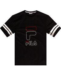Fila Logo T-shirt Black