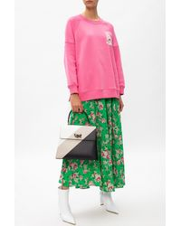 Zadig & Voltaire Floral-printed Skirt - Green