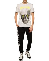 Philipp Plein Skull Motif T-shirt White