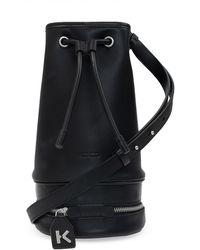 KENZO Bucket Bag - Black