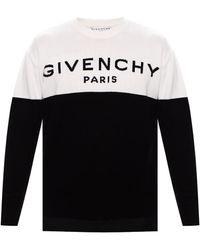 Givenchy Logo Jumper - Black