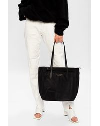 Kate Spade Branded Tote Bag Black