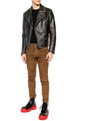 DSquared² Suede Trousers Brown