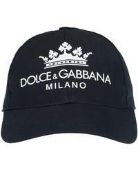 Dolce & Gabbana - Embroidered Logo Baseball Cap - Lyst