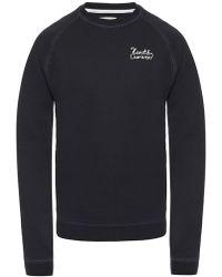 Kent & Curwen Logo-embroidered Sweatshirt - Black