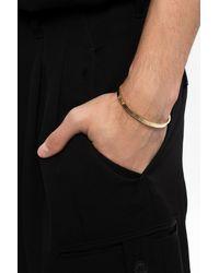 Maison Margiela Silver Bracelet Gold - Metallic