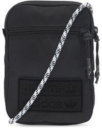 adidas Originals Shoulder Bag With Logo Black