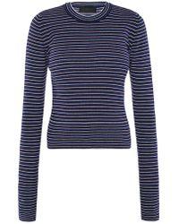 Diesel Black Gold Ribbed Sweater - Blue
