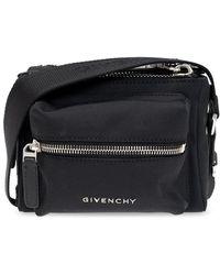 Givenchy 'pandora Mini' Shoulder Bag - Black