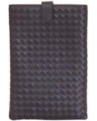 Bottega Veneta - Leather Tablet Case - Lyst