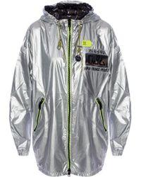 DIESEL Hooded Rain Coat