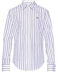 Vivienne Westwood Shirt With Logo - White