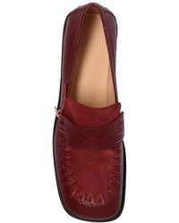 JW Anderson Embellished Loafers - Red