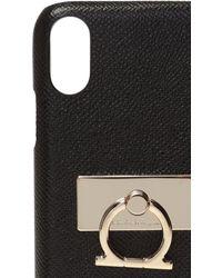 Ferragamo Iphone Xr Case Black