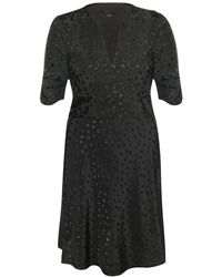 AllSaints Avery Floral Jacquard Dress - Black
