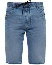 DIESEL Denim Shorts Blue