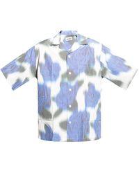 KENZO Short Sleeve Shirt Blue