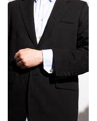Burberry Embossed Cufflinks - Metallic