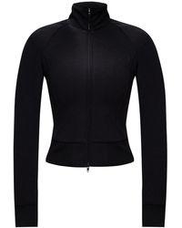 Y-3 Band Collar Sweatshirt - Black
