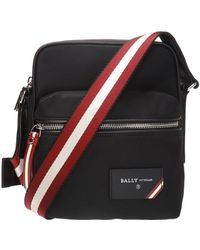 Bally - 'faara' Patched Shoulder Bag - Lyst