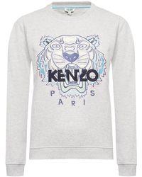 KENZO Tiger Head Sweatshirt - Gray
