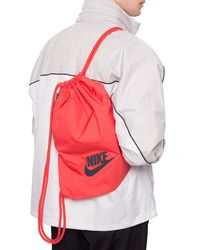 Nike Branded Gym Sack Red