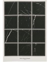 Maison Margiela Set Of 12 Stickers - Black
