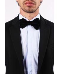Lanvin Velvet Bow-tie Black