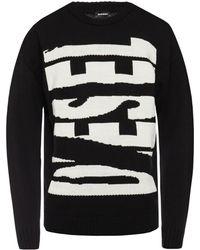 DIESEL - Branded Sweater - Lyst