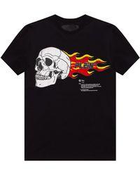 Philipp Plein Graphic-printed T-shirt - Black