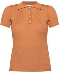 Nanushka Wool Polo - Brown