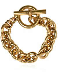 Zimmermann Bracelet With Logo - Metallic