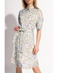 PS by Paul Smith Belted-waist Dress - Multicolour