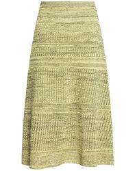 PROENZA SCHOULER WHITE LABEL Openwork Skirt - Green
