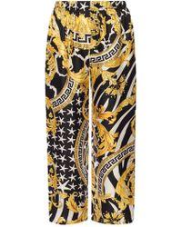 Versace Patterned Trousers - Multicolour
