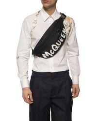 Alexander McQueen Oversize Harness Belt Bag - Black
